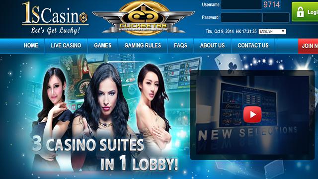 Agen Online Casino 1SCasino Terbaik