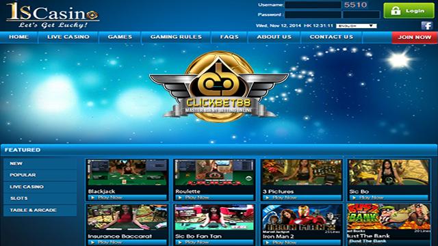 Agen Resmi Judi Online Casino Terpercaya 1SCASINO