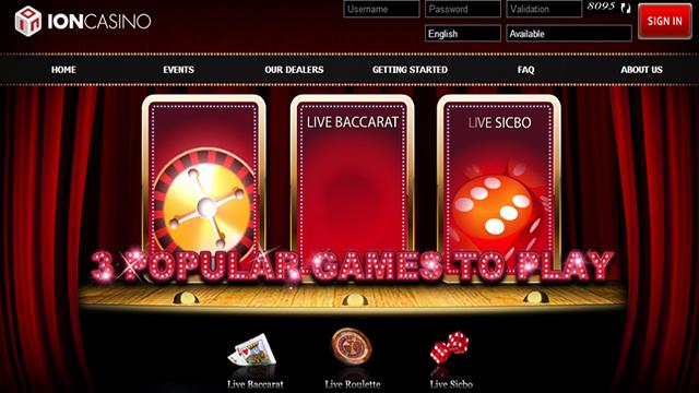 Agen Resmi Ion Casino Terpercaya